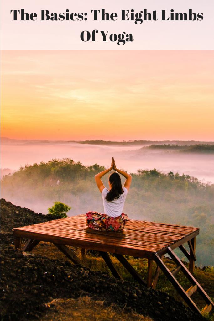 Peace Love & Yoga share the eight limbs of yoga.