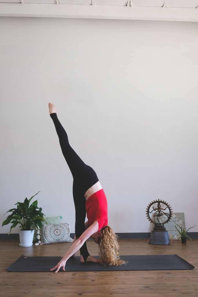 Brittni Barger from Peace Love And Yoga, shares a yoga sequence focused on the hips. You can destress and release tension in your hips with this flow.