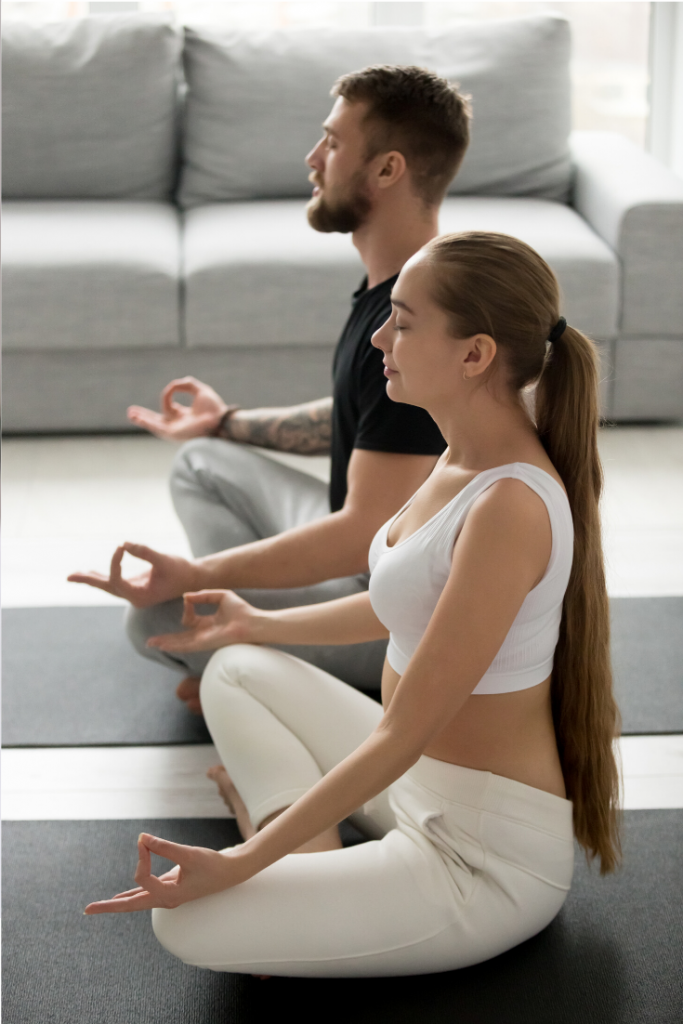 Peace Love And Yoga, a hot yoga studio in Carlsbad California shares 5 key tips on how to create the perfect home yoga space.