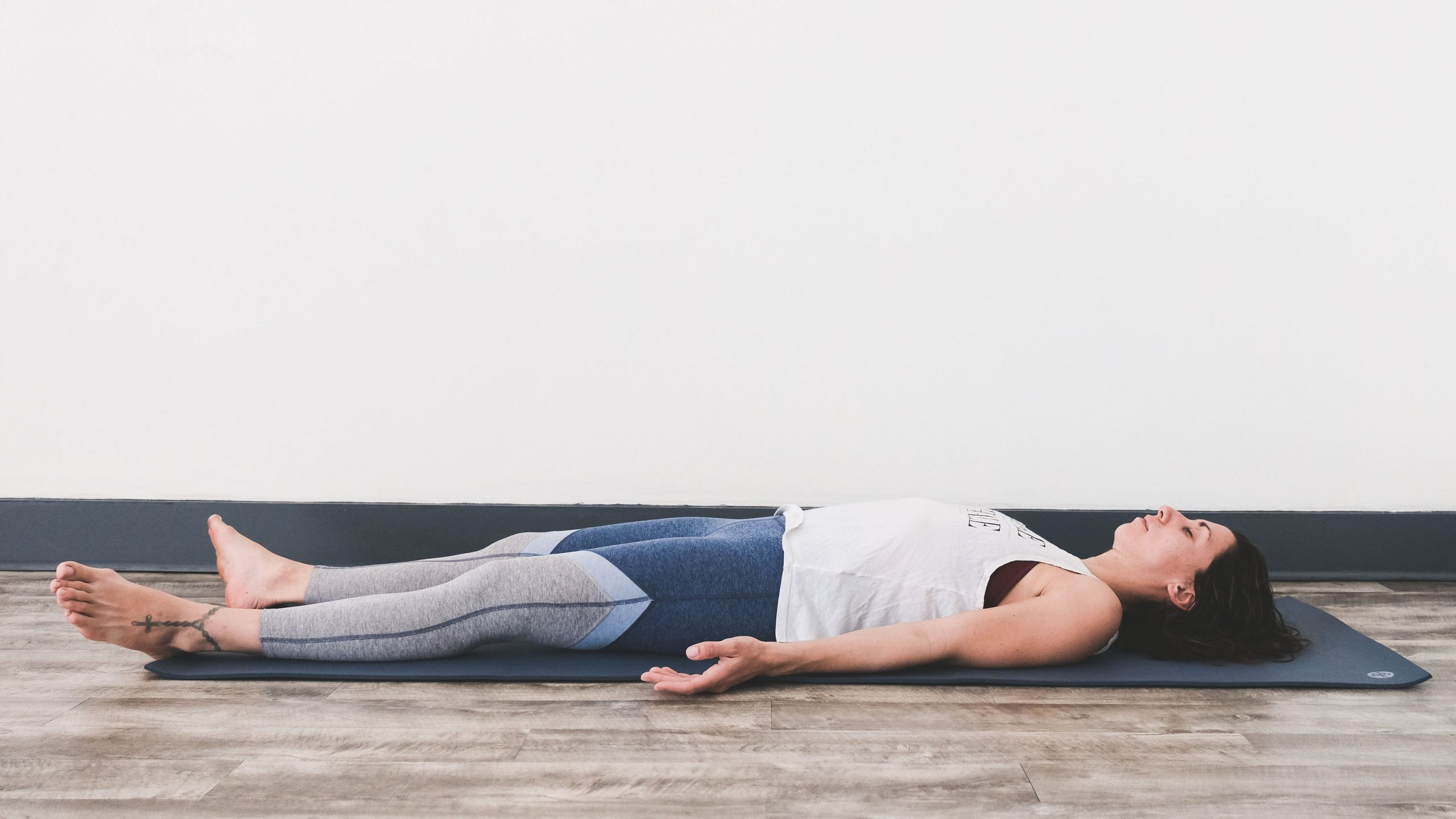 5 Easy Poses To Destress featured by Peace Love And Yoga a yoga and wellness studio in Carlsbad California.
